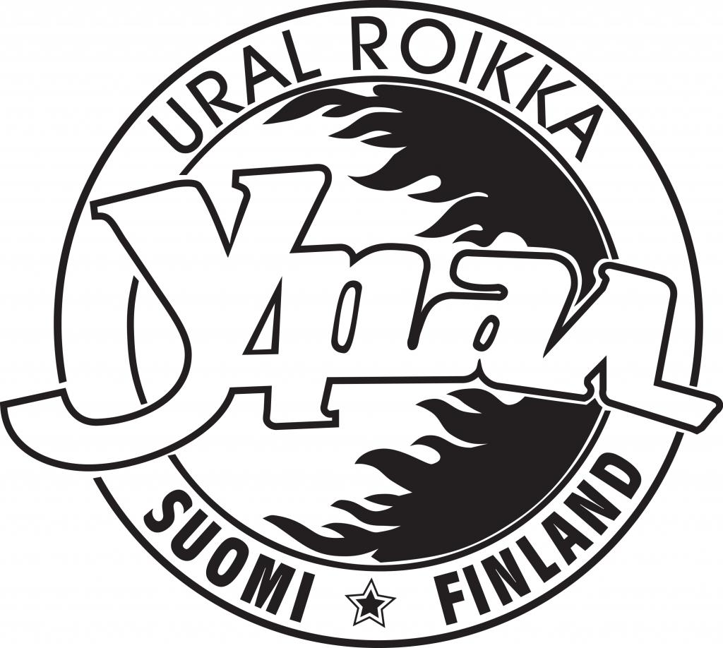 Ural Roikka logo mustavalko 300x300dpi png läpinäkyvä tausta
